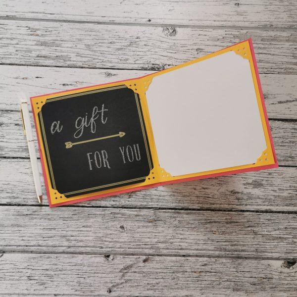 Gift Certificate in Card