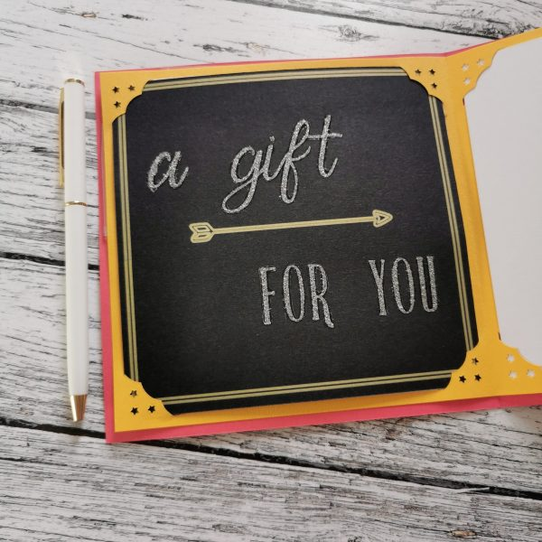 Gift Certificate close-up