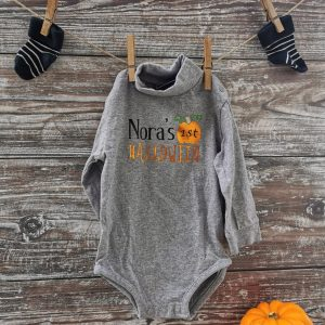 Baby's First Halloween - personalizable