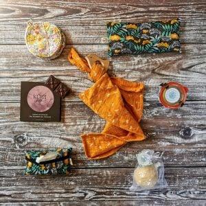 postpartum gift basket contents