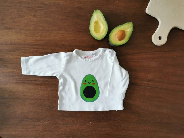 Personalizable Avocado Onesie