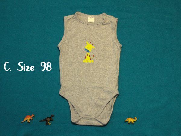 Personalizable Giraffe Onesie-98