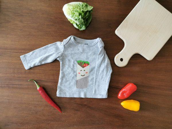 Personalizable Kebab Baby Shirt1