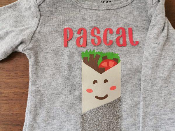 Personalizable Kebab Baby Shirt