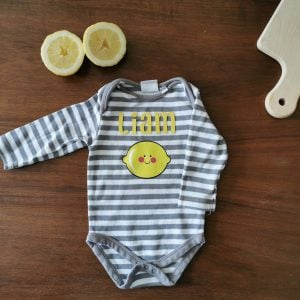Personalizable Lemon Onesie