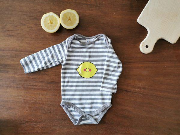 Personalizable Lemon Onesie1