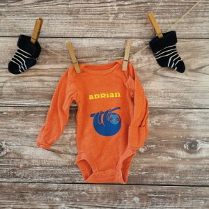 Personalizable Sloth Onesie