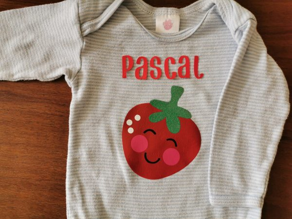 Personalizable Strawberry Onesie