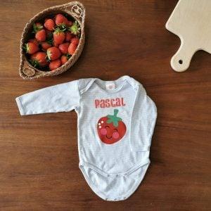 Personalizable Strawberry Onesie