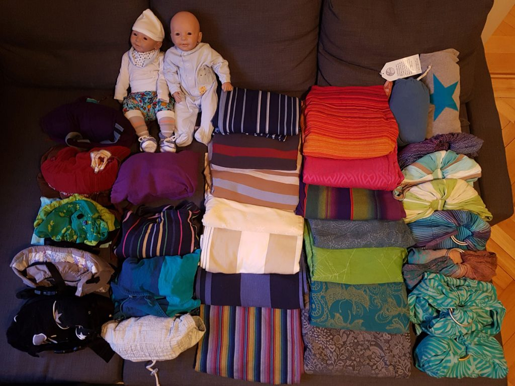 Babywearing equipment